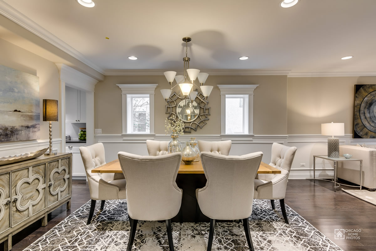 After Pictures Chicagoland Home Staging