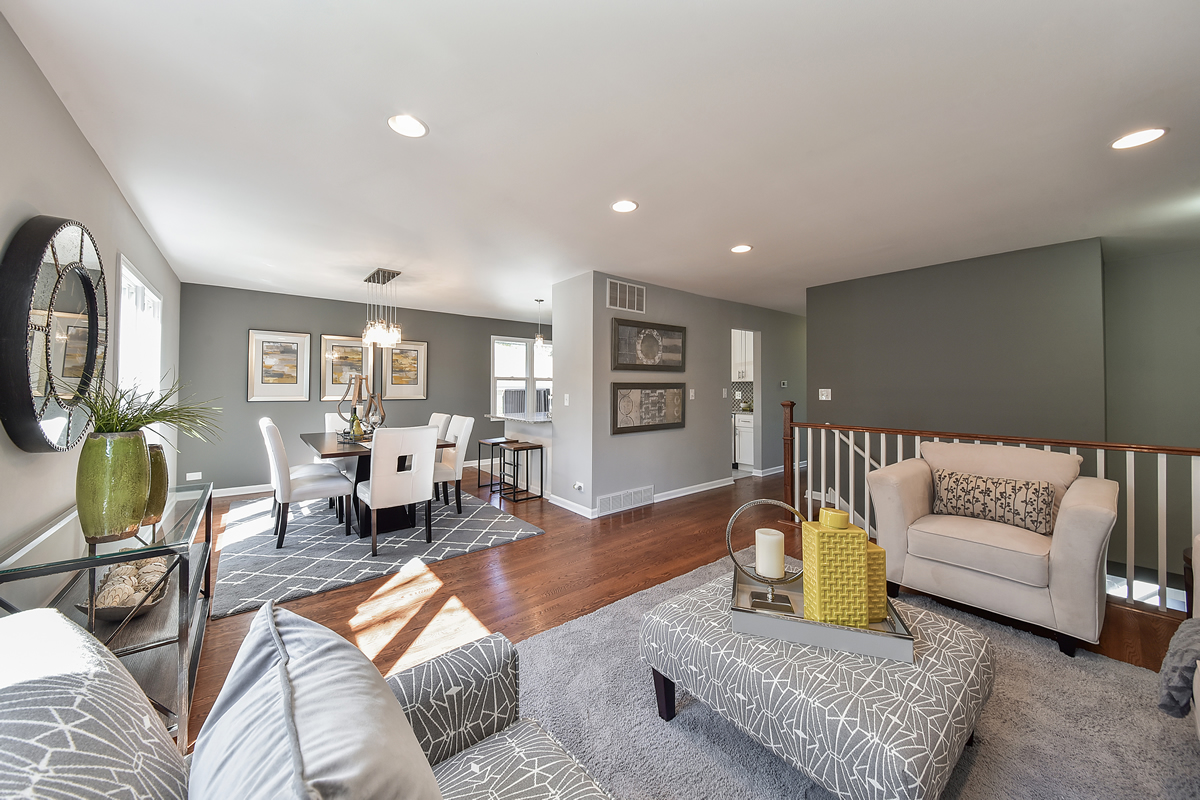 After pictures chicagoland home staging for Interior design staffing agency chicago