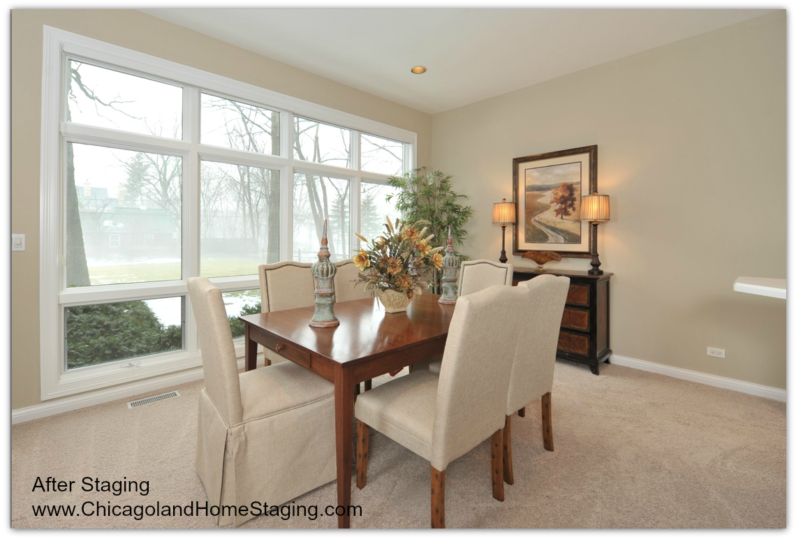 Chicago Home Staging chicago home staging dining room chicagoland home staging