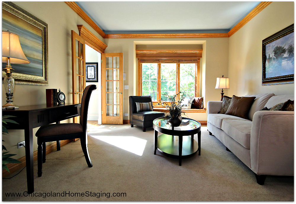 What would you do with this space? Chicagoland Home Staging Answers.