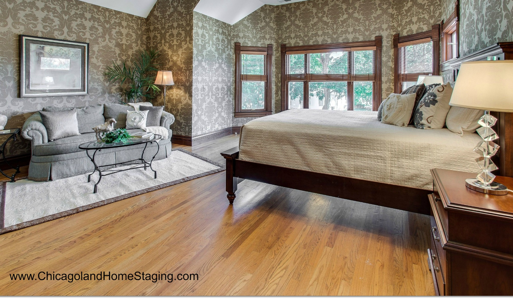 Naperville Home Staging: YES. We can even make THAT look good.