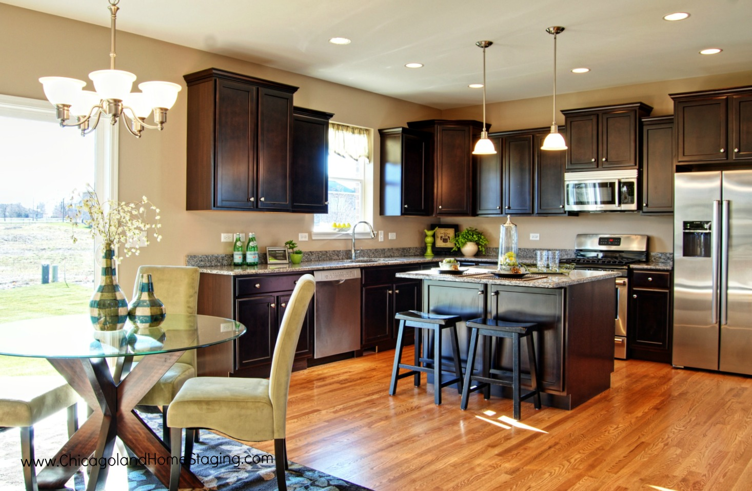 Even Naperville home builders need professional staging