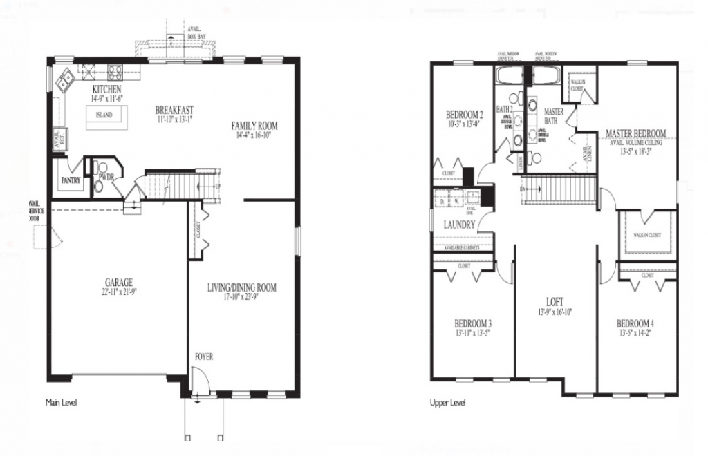 floor plan for 316 Winthrop Drive