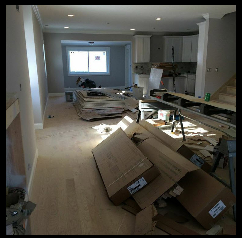 Portage Park Vacant Staging Chicago