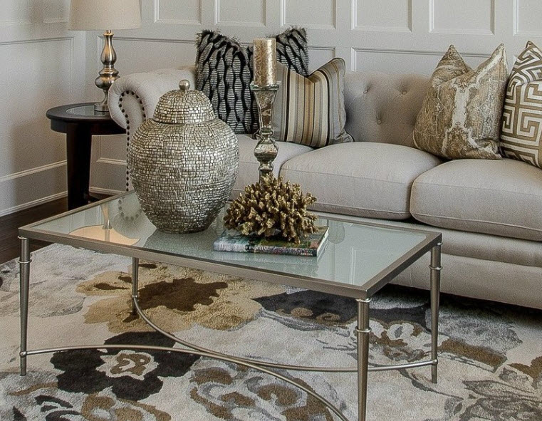 St. Charles Staging Pulls Together Eclectic Decor