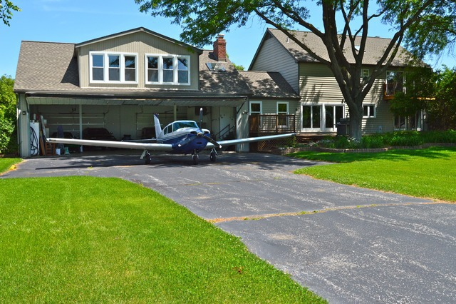 "Downers Grove Home With ""Scenic View of Airstrip"""