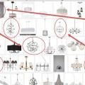 Globe silver chandelier
