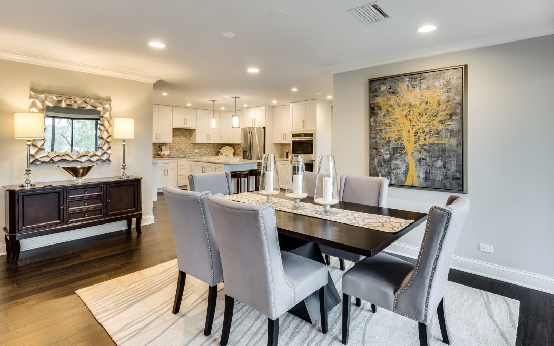 Creating a Focal Point in the Dining Room