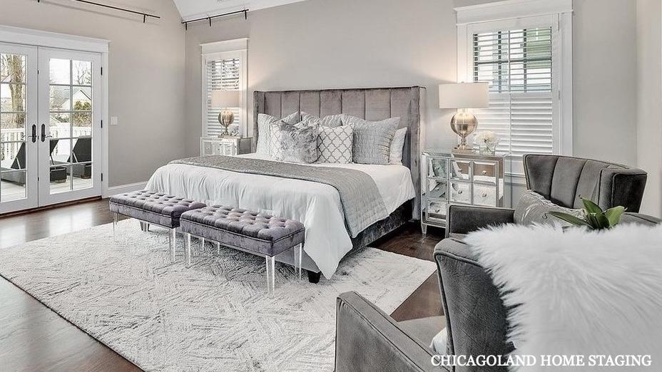 Chicagoland Home Staging Bedroom Naperville St Charles