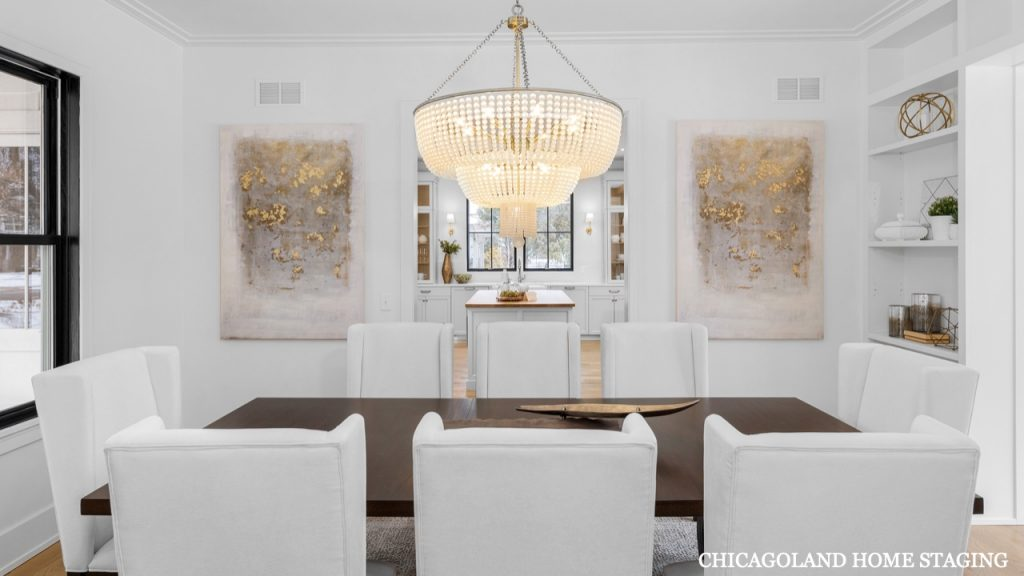 Chicagoland Home Staging Dining Room Naperville