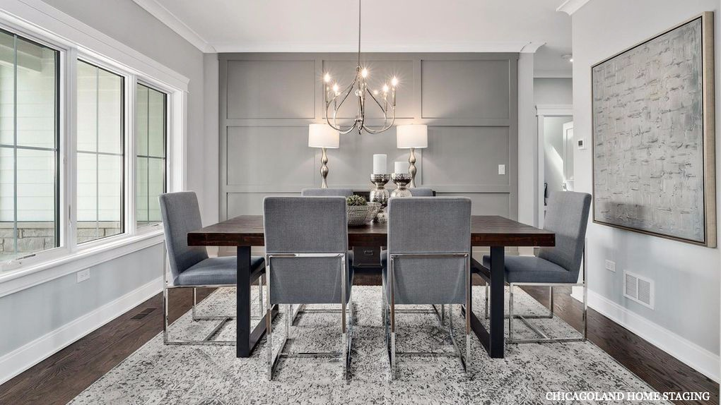 Chicagoland Home Staging Dining Room Naperville St Charles