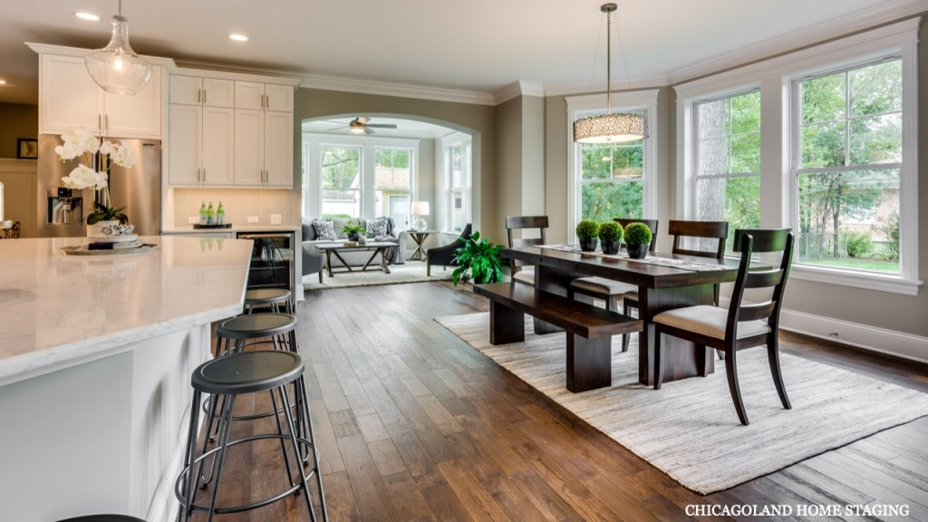 Chicagoland Home Staging Kitchen Naperville