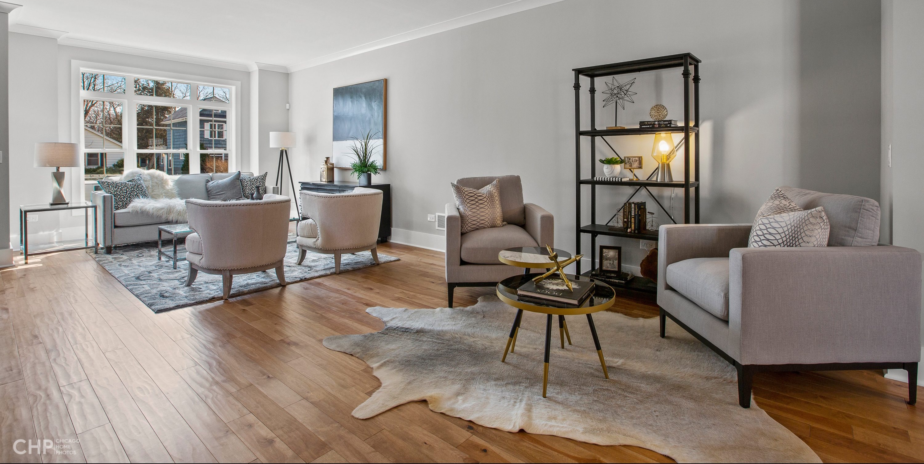 Chicagoland Home Staging Living Room Update St Charles Naperville