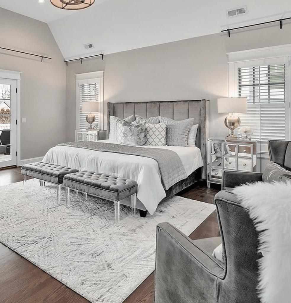 Chicagoland Home Staging Hinsdale Master Bedroom