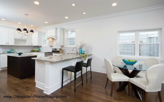 home staging island in chicago
