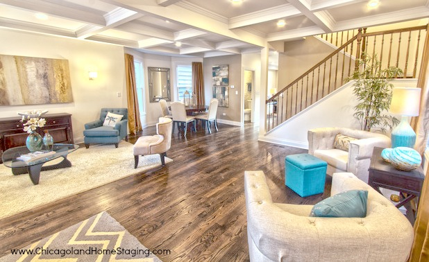 flipping for return on home staging