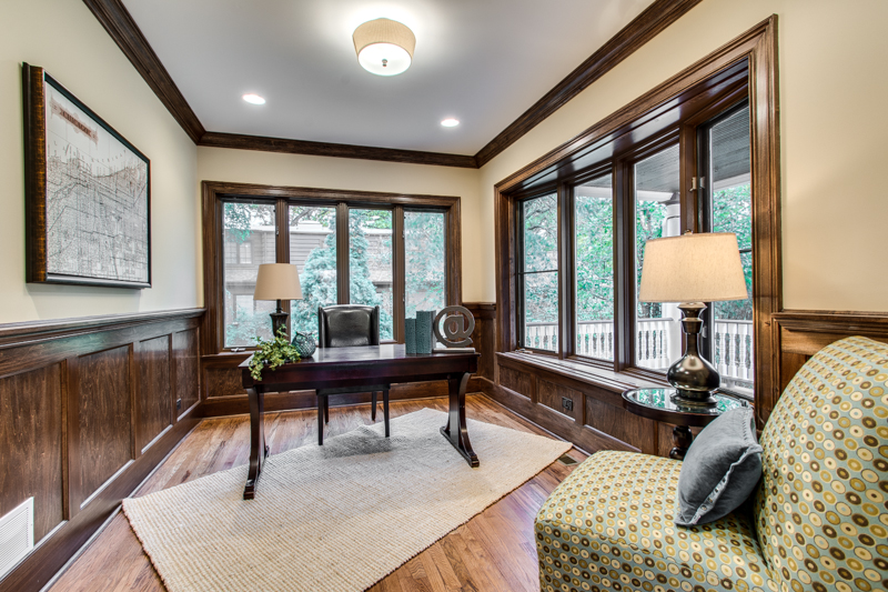 how should i stage my home office