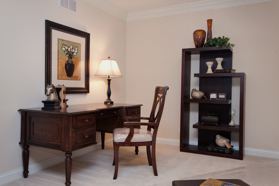 how to stage your home office