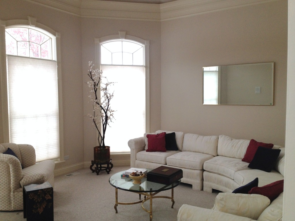 using what you have home staging