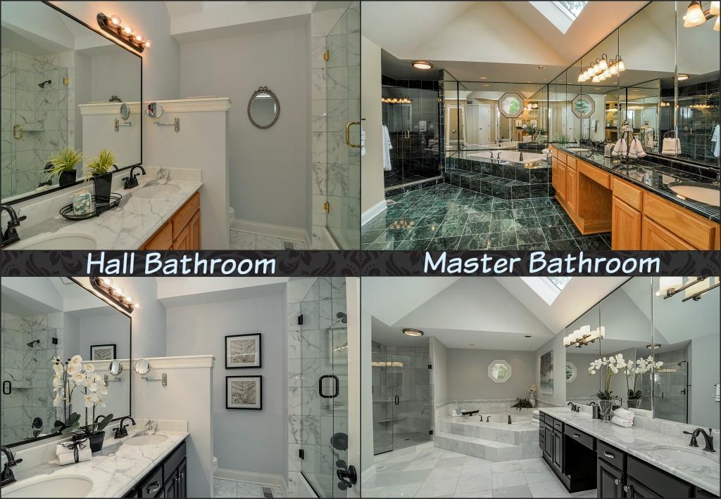 Bathrooms Collage