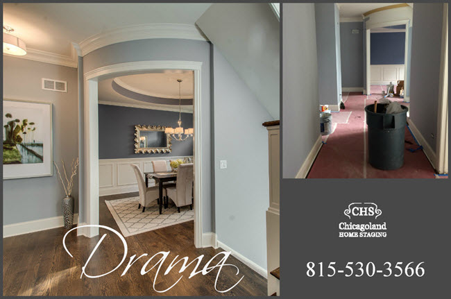 Dining Room Foyer Collage