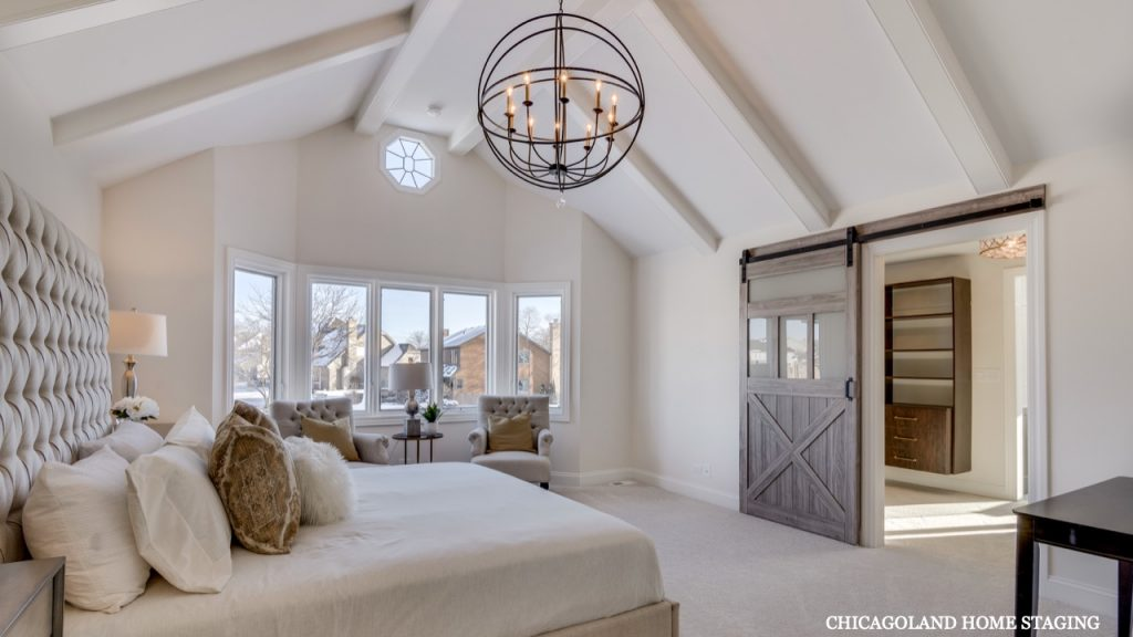 Chicagoland Home Staging Bedroom Naperville St Charles Wheaton