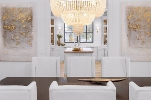 Chicagoland Home Staging Dining Room REALTOR Home Showing