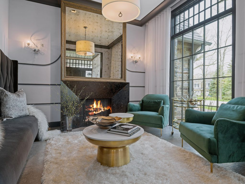 luxury home staging hinsdale