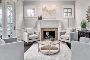 Chicagoland Home Staging Family Room Naperville-3