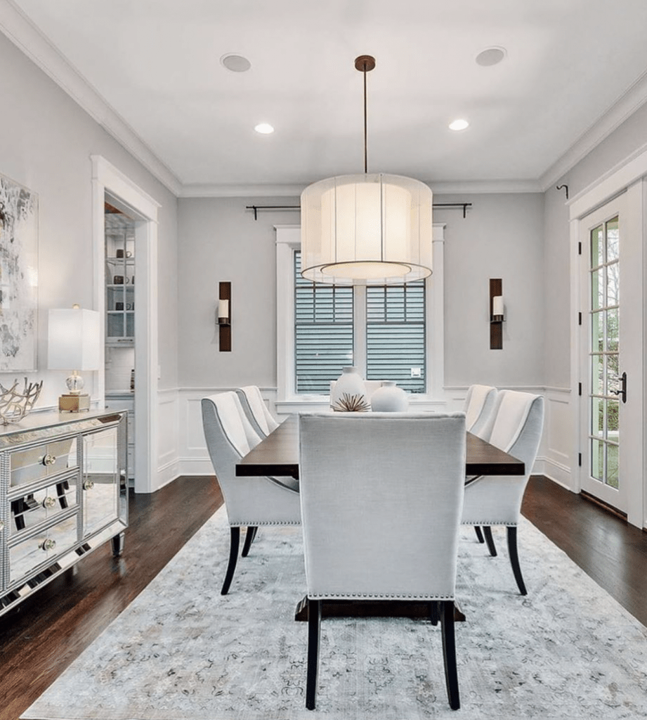 Chicagoland Home Staging Hinsdale Dining Room