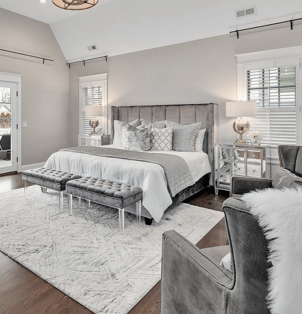 Chicagoland Home Staging Hinsdale Master Bedroom