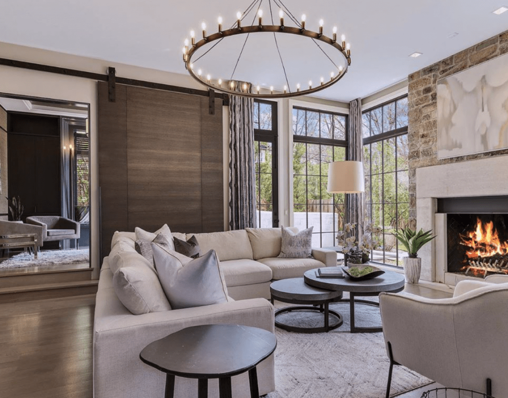 Chicagoland Home Staging Naperville Lighting Design