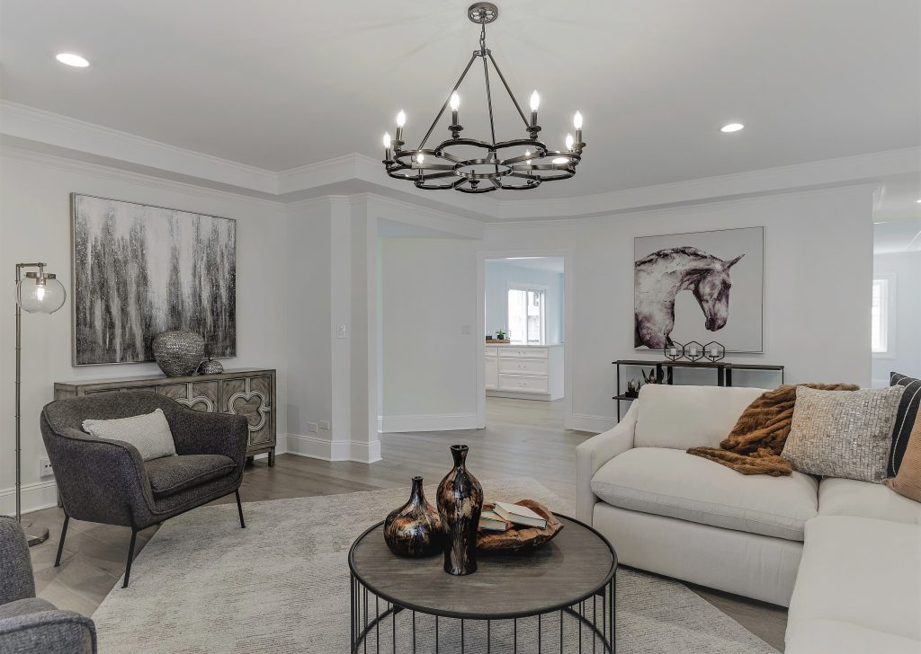 staging a family home