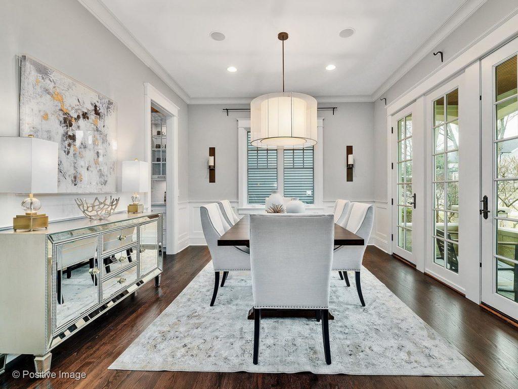 Best Naperville Landscaper Staging Designer Dining Room