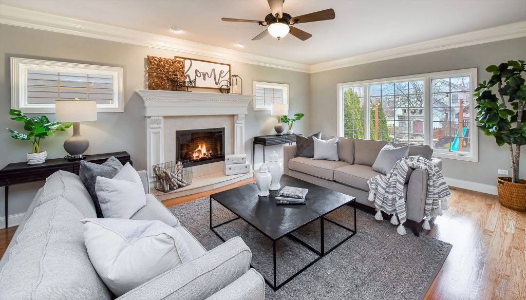 Fall 2020 Homebuyers Want Respite Homes Chicagoland Home Staging Family Room