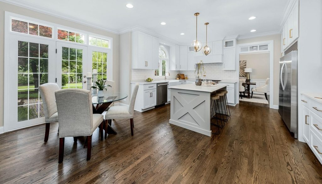 Eat In Kitchen Home Staging Naperville