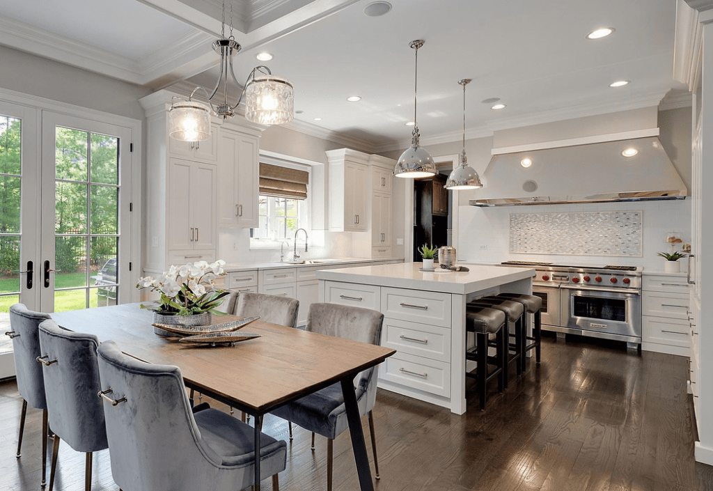 Eat In Kitchen Home Staging St Charles