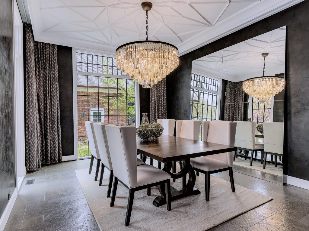 Chicagoland Luxury Home Staging Dining Room Western Springs
